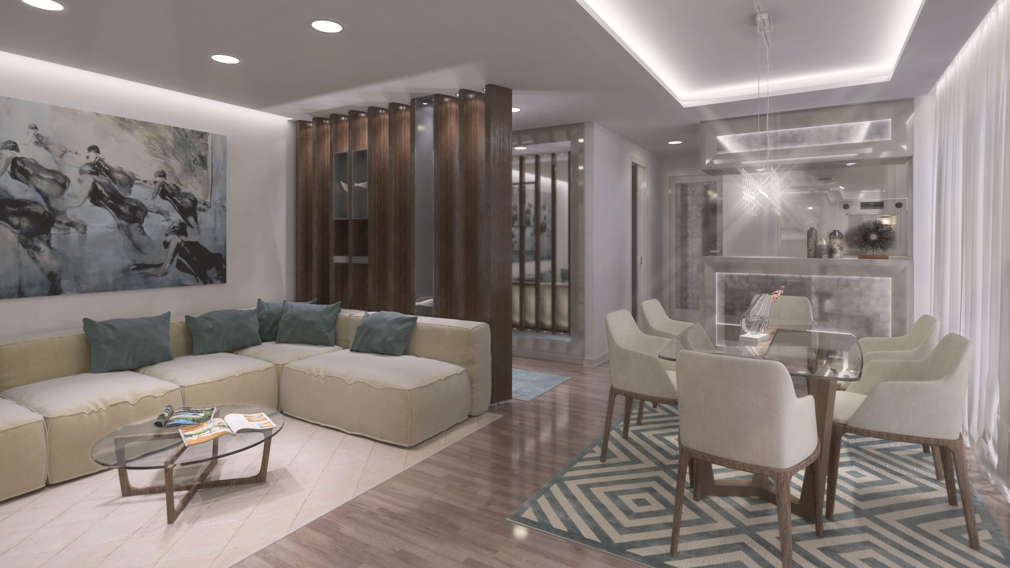 3d modeling appartement design interior